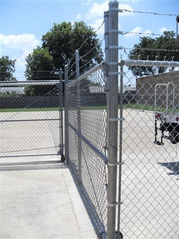 Commercial Steel Chain Link Fencing