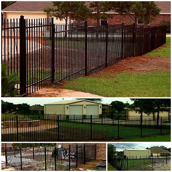 5 ft tall ortamental iron. True close gate hinges.