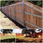Hand built Cedar Fence