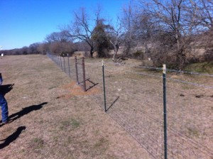 4x4 wire fence
