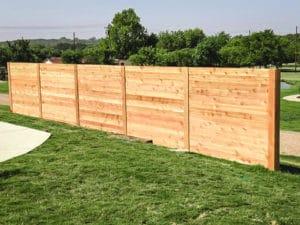 Horizontal 6 Foot 6 Cedar Aaa Burleson Fence